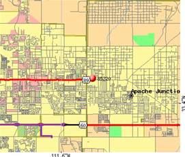 arizona map apache junction