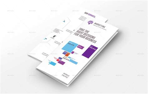infographic brochure template by suzon abdullah graphicriver