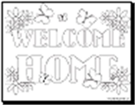 welcome coloring pages printable