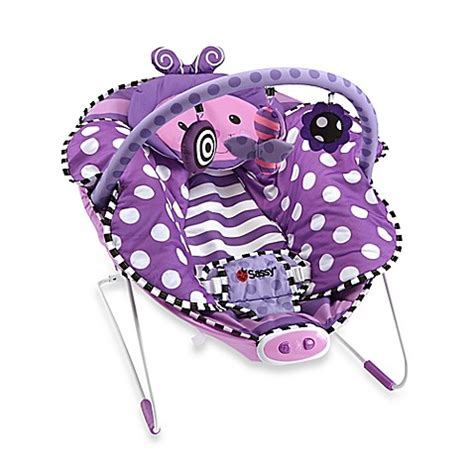 Bouncer Butterfly buy sassy 174 cuddle bug butterfly bouncer from bed bath beyond