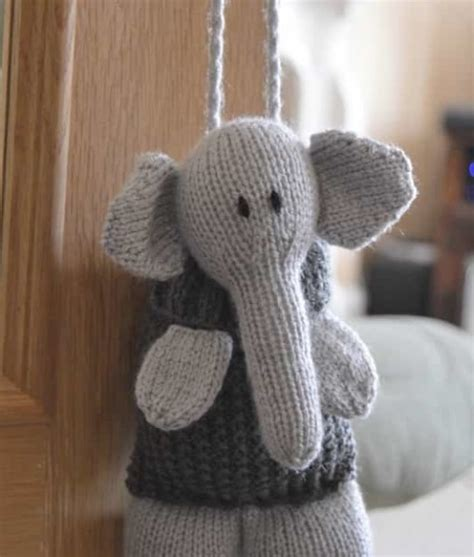 knitting patterns for elephants elephant baggles gift bag knitting by post