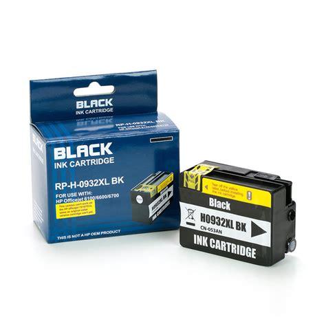 Murah Hp Ink Cartridge 932xl Black hp 932xl cn053an remanufactured compatible black ink