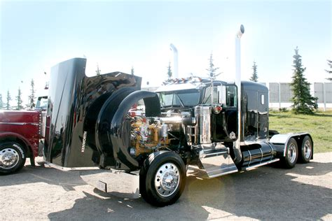 kenworth show trucks ab big rig weekend 2009 pro trucker magazine canada s