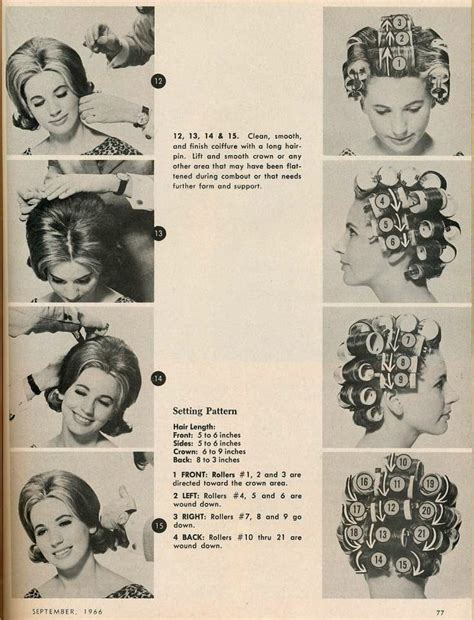 1816 best images about vintage hair howtos on 40 best vintage hair setting patterns images on