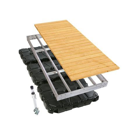 aluminum floating boat dock kits playstar 4 ft x 10 ft aluminum floating dock kit the