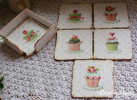 Decoupage Placemats - 63 best images about individuales y posavasos on