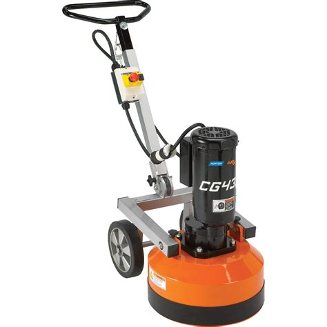 Concrete Floor Tools by Norton Concrete Floor Grinder Polisher 1 3 4 Hp Model