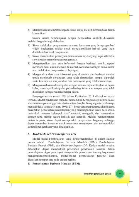 Buku Pendekatan Ilmiah Dalam Implementasi Kurikulum 2013 Abdul M Pr buku pegangan guru ips smp kelas 9 kurikulum 2013 wiendasblog4everyon