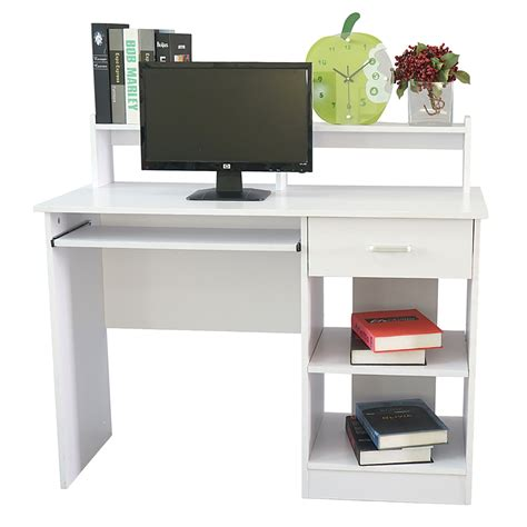 Small White Desk With Storage by Furniture Small White Wood Compter Desk With Storage