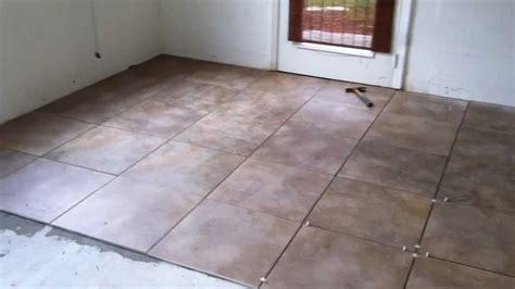 Laying Floor Tiles Home Design ? Contemporary Tile Design
