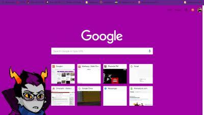 google themes homestuck homestuck chrome themes themebeta