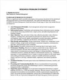 sample problem statement 8 documents in pdf word