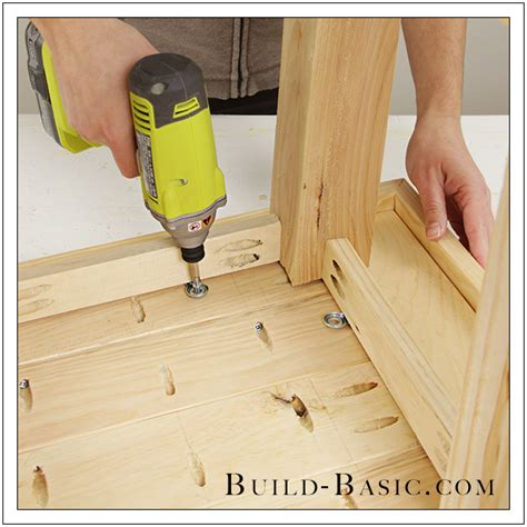 how to build a side table build a diy side table build basic