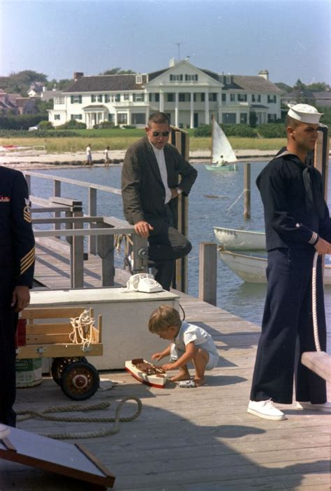jr secret weekend at hyannis port kennedy family and friends cruise