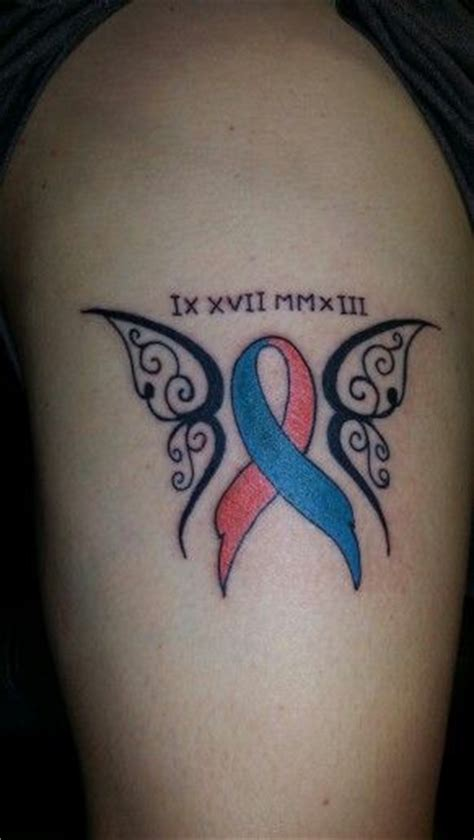 miscarriage ribbon tattoo miscarriage ribbon tattoos ribbons