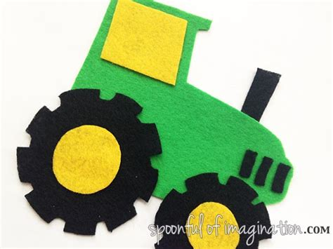felt tractor pattern tractor stencil printable www imgkid com the image kid