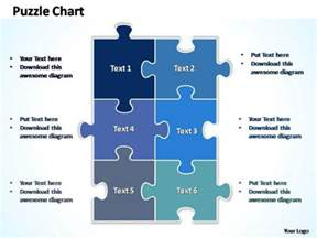jigsaw puzzle powerpoint template free powerpoint template diagram rectangular jigsaw puzzle ppt