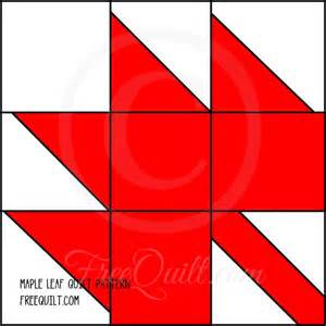 maple leaf quilt pattern free quilt patterns at