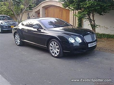 Bentley Continental Spotted In Karachi Pakistan On 11 20 2009
