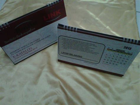 Cetak Kalender Meja Duduk 260 Gr Isi 12 Lembar Cover kalender meja 187 archive 187 pusat cetak sablon