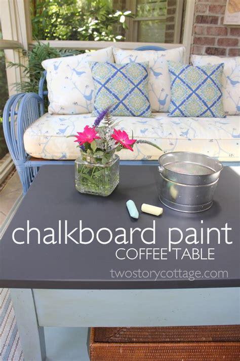 chalkboard paint coffee table best 25 chalkboard coffee tables ideas on