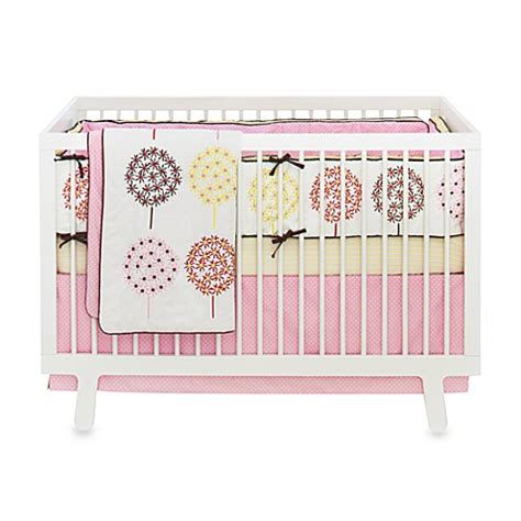 skip hop bedding skip hop 174 flower burst 4 piece crib bedding set and