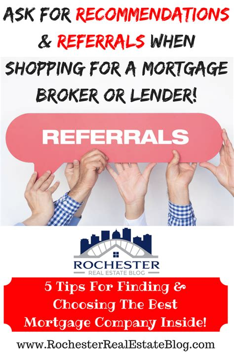 5 tips for finding and choosing a mortgage broker or lender