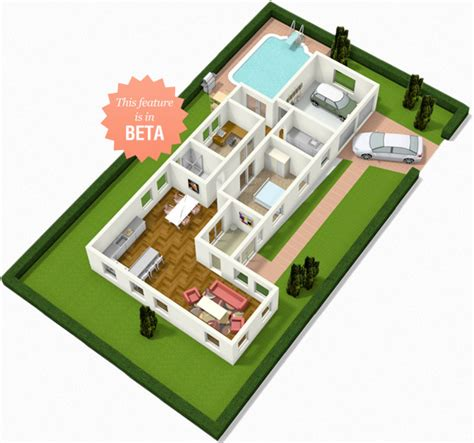 3d floor plans free floorplanner create floor plans house plans and home plans
