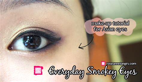 eyeliner tutorial for asian eyes smokey eye makeup tutorial for asian eyes mugeek vidalondon