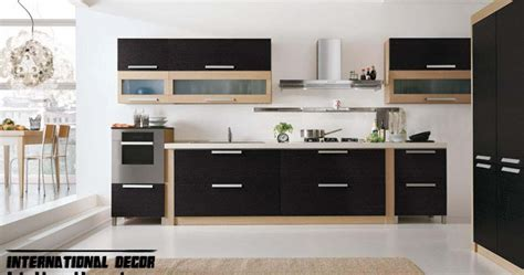 modern black kitchen cabinets modern black kitchen designs ideas furniture cabinets 2015