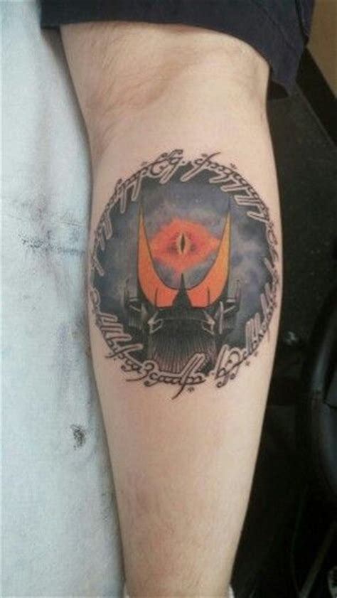 eye of sauron tattoo tattoos and and on