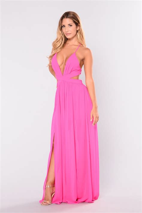 Dsbm223781 Pink Dress Dress Pink all summer maxi dress pink
