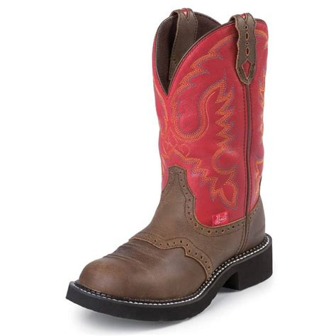 justin womans boots justin womens l9921 waterproof boots