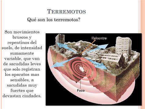 los terremotos como se origina terremotos qu 233 los terremotos ppt descargar