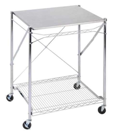 Folding Stainless Steel Table Stainless Steel Folding Work Table Kitchen Cart