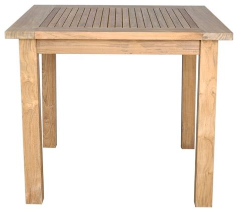 35 quot square table small slats craftsman outdoor