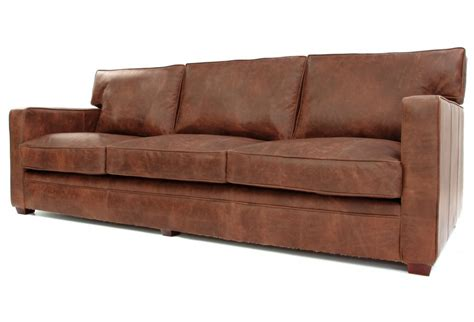 large sofa bed whitechapel large vintage leather sofa bed from