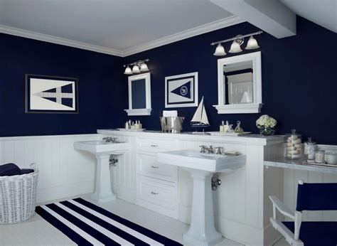 Navy And White Bathroom by Navy And White Bathroom Ideas Beautiful Blue Bathroom