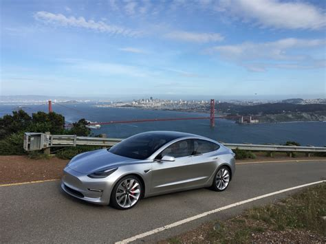 tesla model 3 silver tesla model 3 spotted twice in public