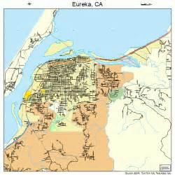 eureka california map eureka california map 0623042
