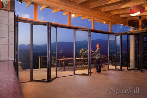 Window Treatments For Sliding Glass Doors Nanawall Sl45 Windows And Doors By Nanawall