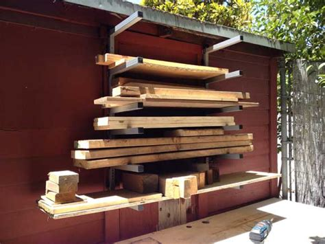 Rack It Lumber Racks by Organizing The Woodpile With Rockwell Lumber Racks