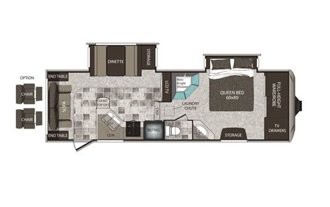 keystone fifth wheel floor plans keystone cougar high country fifth wheeland travel trailer