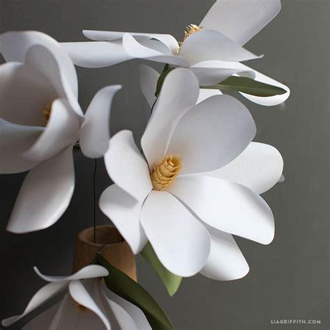 magnolia flower template 11 beautiful diy paper flower tutorials