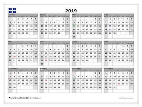 calendrier  quebec canada calendrier annuel calendrier   calendrier  imprimer