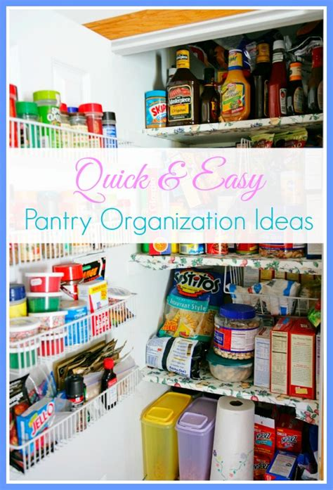Easy Pantry by And Easy Pantry Organizing Tips