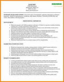 best resume sle format 6 best resume format for managers lawyer resume