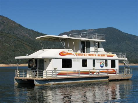 4 Bedroom 1 Story House Plans silverthorn resort queen ii houseboat luxury on the lake
