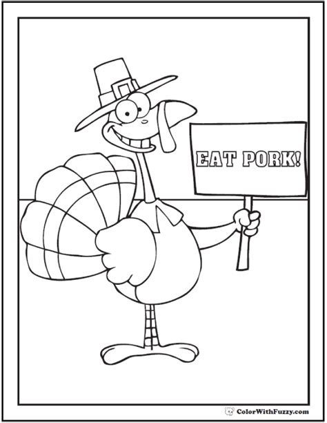 can turkeys see color 68 thanksgiving coloring pages autumn harvest