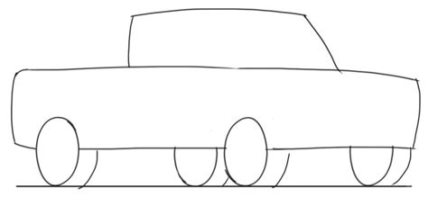 drawing pattern car truck drawings for kids
